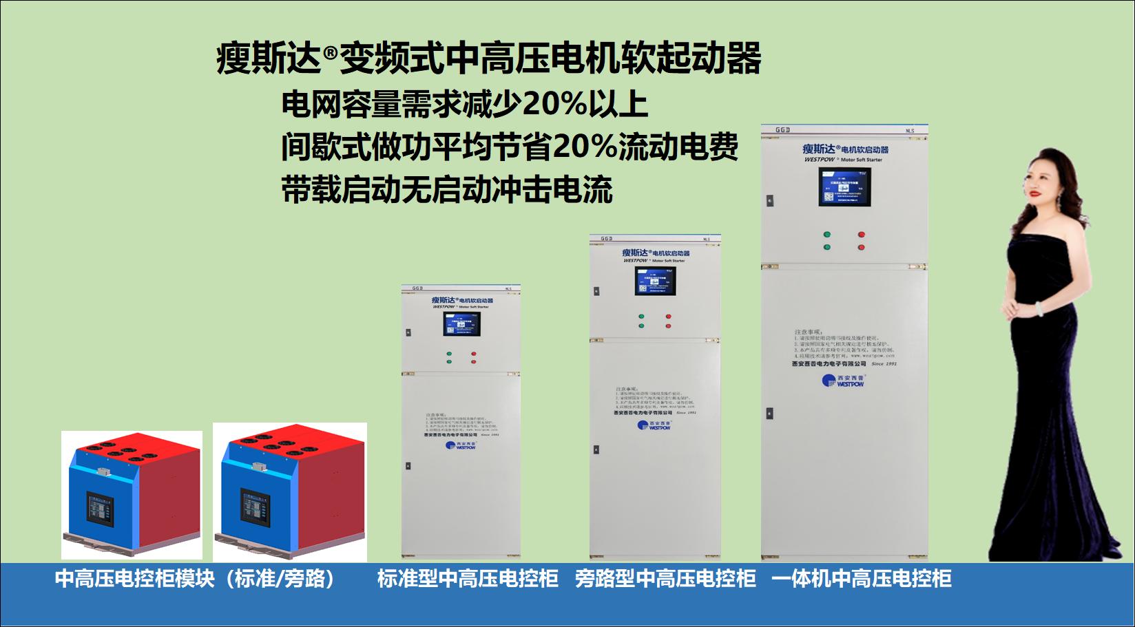 中高压变频式电机软启动装器-H5